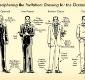 10 Helpful Infographs For Dressing Like The Dashing Gentleman That You Are