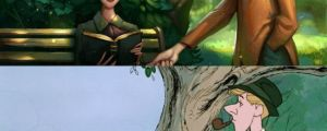 This guy paints over your childhood..what a touch of photoshop can do is amazing