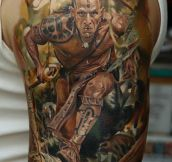 This Man Has Just Raised The Bar For Hyperrealistic Tattoos. WOW.