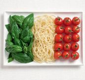18 National Flags Made From Food