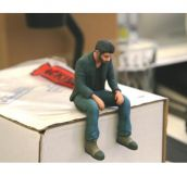 Little 3D printed Sad Keanu