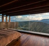 Only wood, glass and the view – Casa Los Algarrobos