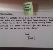 You Know You Have a Good Dad When…