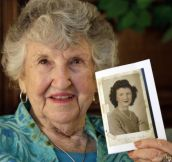 90 Year Old Woman Finds Deceased WWII Marine's Diary Addressed to Her