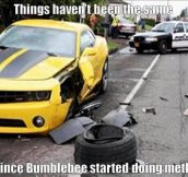 Bumblebee has been having a rough time