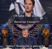 Jimmy Carr, king of quips