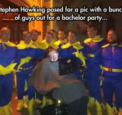 The wildest bachelor party