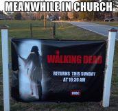 Church with a sense of humor