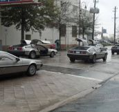 Deloreans, Deloreans Everywhere