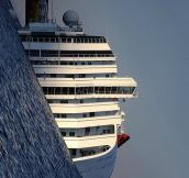 Costa Concordia before it was refloated…