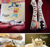 Stunning shoes you can get customized by an artist…