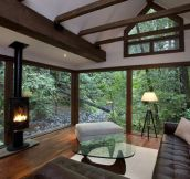 A Forest Cabin In Northern California