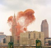 Releasing 1.5 Million Balloons Downtown Made Everyone Happy