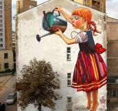Awesome Street Art Reminds Me That Spring Is Near