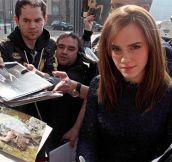 Emma Watson Looking At The Camera