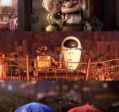 Pixar's cutest couples…