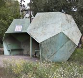 Amazing soviet era bus stops