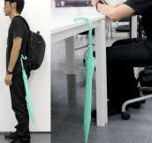 Flexible umbrella handle