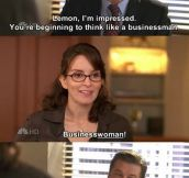 Liz Lemon Is In An Uphill Battle