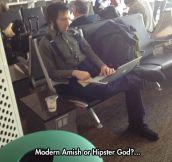 I Say Hipster God
