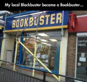 It Went Out Of Business Too, When They Realized Downloading Books Was a Thing