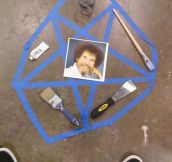 That's a happy little pentagram…