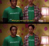 Kool-Aid Stains