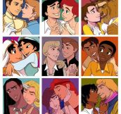 Gay Disney Couples…