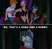 My favorite Futurama line…