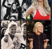 Famous people who were once cheerleaders…