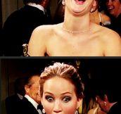When Jennifer Lawrence met Jack Nicholson…