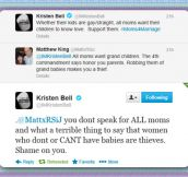 Kristen Bell Is Cool In My Book