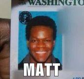 Nice Try, Matt