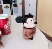 Mighty mouse mug…