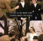 Monty Python humor never dies…