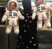 Gravitational Costume