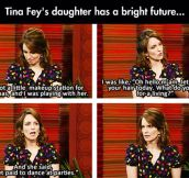 Tina Fey's Daughter Has Her Priorities In Order