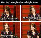 Tina Fey's Daughter Has Her Priorities In Order
