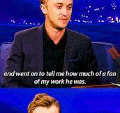 Nice of you, Tom…