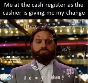 Receiving Change