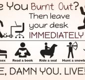 You Can't Get Burned Out By Enjoying Life