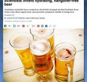I Hope It Tastes Like Regular Beer