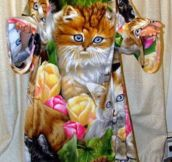 A crazy cat lady must-have…