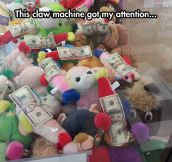 Interesting Claw Machine
