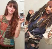 The power of cosplay…