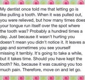 Break Ups Are Like a Toothache