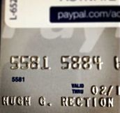 My Credit Card Came In The Mail