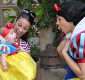 Maybe The Baby Is Snow White's Idol