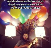 99 Dread Balloons Go By