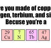 There's just no Chemistry between us…